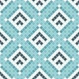 Abstract naadloos patroon van vierkanten textuur van ceranic Stock Foto