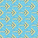 Abstract naadloos patroon van vierkanten textuur van ceranic Stock Afbeelding