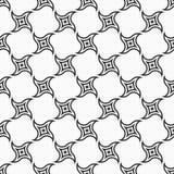 Abstract naadloos patroon van wervelende geometrische vormen Royalty-vrije Stock Foto's