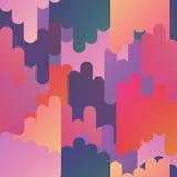 Abstract Naadloos Patroon Vector illustratie Stock Foto