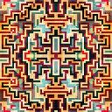 Abstract Naadloos Patroon Vector illustratie voor uw zoet water design Stock Afbeeldingen
