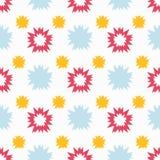 Abstract Naadloos Patroon Vector illustratie voor uw zoet water design Stock Afbeelding