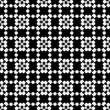 Abstract naadloos patroon in zwart-wit Royalty-vrije Stock Foto's