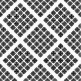Abstract Naadloos Patroon Zwart-wit patroon Stock Foto's