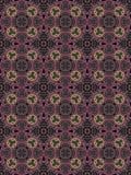 Abstract naadloos Perzisch gedetailleerd vectorpatroon Royalty-vrije Stock Foto