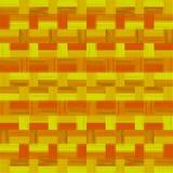 Abstract naadloos retro gestippeld patroon van strepen en rechthoeken royalty-vrije illustratie