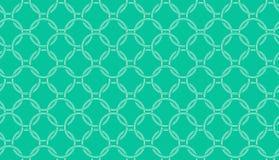 Abstract naadloos ringenpatroon Stock Foto