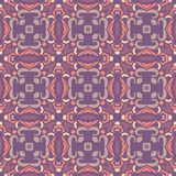 Abstract naadloos sierpatroon Royalty-vrije Stock Afbeeldingen