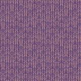 Abstract naadloos vector de chevron lilac patroon van het aardlint Stock Foto's