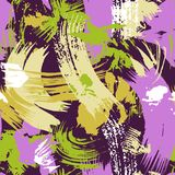 Abstract naadloos vectorpatroon Stock Foto