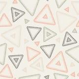 Abstract naadloos vectorpatroon - driehoeken vector illustratie