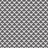 Abstract Naadloos Zwart-wit Art Deco Vector Pattern stock illustratie
