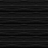 Abstract naadloos zwart-wit patroon Royalty-vrije Stock Afbeelding