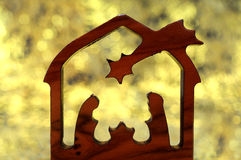 Abstract nativity Stock Images