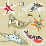 Abstract natural animal pattern Royalty Free Stock Image