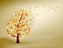 Abstract natural autumn background. EPS 8 Royalty Free Stock Image