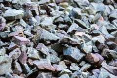 Background with scree. Abstract natural background with scree stones Royalty Free Stock Image