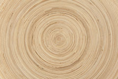 Abstract Natural Circular Bamboo Background Royalty Free Stock Photo