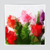 Abstract Natural Colorful Triangle background Royalty Free Stock Photography