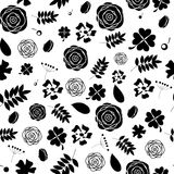 Abstract Natural Flower Seamless Pattern Royalty Free Stock Image