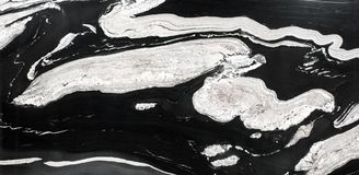 Abstract natural granite black and white for design. High resolution photo Stock Photos