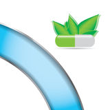 Abstract natural green medical background. Eps10 stock illustration