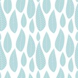 Abstract Natural Seamless Background with Leaves. Vector Illustration. EPS10 vector illustration