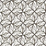 Abstract natural seamless pattern design Royalty Free Stock Images