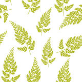 Abstract Natural Spring Seamless Pattern Background with Leaves. Vector Illustration EPS10 Stock Photo
