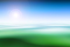 Abstract nature background. Computer graphics Royalty Free Stock Image