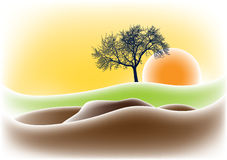 Abstract Nature Background Stock Photo