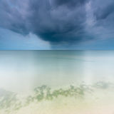 Stormy sky over the sea. Abstract nature background sky over sea Royalty Free Stock Image