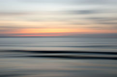 Abstract nature sunset. Abstract motion blur sunset nature background Stock Photography