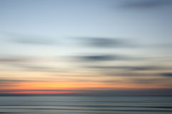 Abstract nature sunset. Abstract motion blur sunset nature background Stock Images