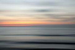 Abstract nature sunset. Abstract motion blur sunset nature background Stock Image