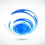 Abstract nature wave background. Stock Image
