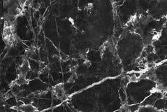Abstract natuurlijk zwart marmer Stock Fotografie