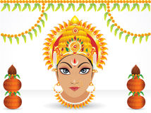 Abstract navratri festival wallpaper Stock Image