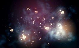 Abstract nebula Royalty Free Stock Image