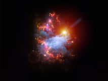 Abstract nebulae Royalty Free Stock Image