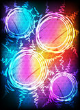 Abstract neon background Stock Image