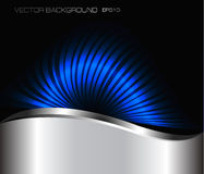 Abstract neon background. Vector Stock Photography