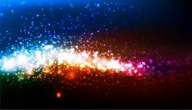 Abstract neon bedrijfsmalplaatje Stock Foto's