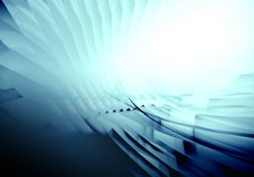 Abstract neon blue background Royalty Free Stock Image
