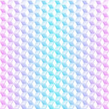 Abstract neon cubes seamless background. Abstract  acid colored cubes graphic geometric background Royalty Free Stock Photos