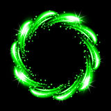 Abstract neon frame Royalty Free Stock Photography