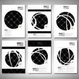 Abstract neon light black texture. Brochure, flyer Royalty Free Stock Photo