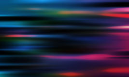 Abstract neon lights blurred background Royalty Free Stock Images