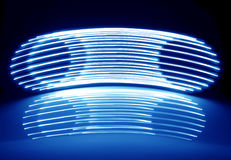 Abstract Neon Lights Stock Photography