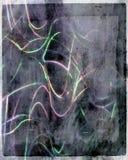 Abstract neon op document achtergrond Stock Fotografie